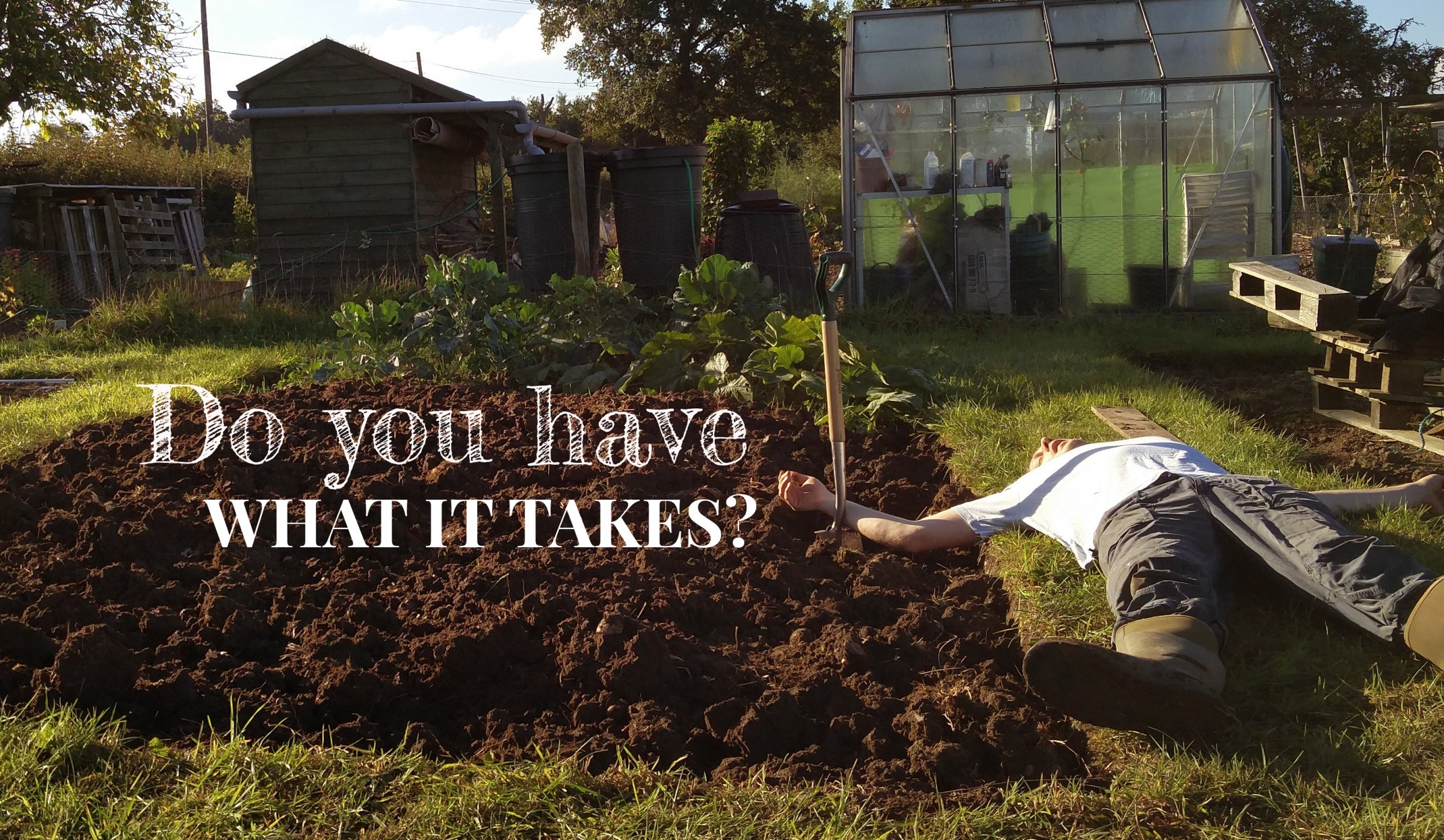 We talk through the Pros and Cons of taking on an Allotment.