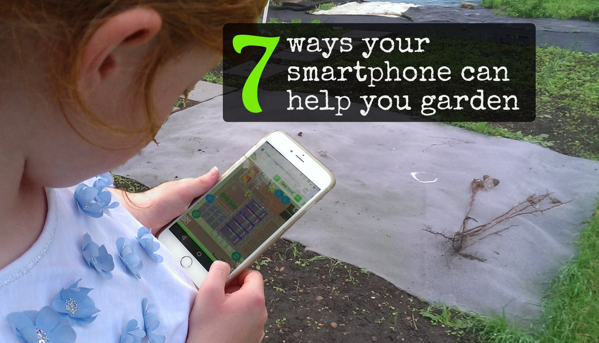 iPhones, Android on Windows Phones can all help you in the garden or allotment.  Here's how...