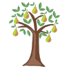 Icon showing Pear Tree