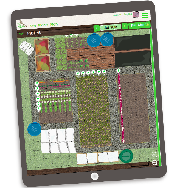 Kitchen Garden Planner: Free Kitchen Garden & Allotment Planner